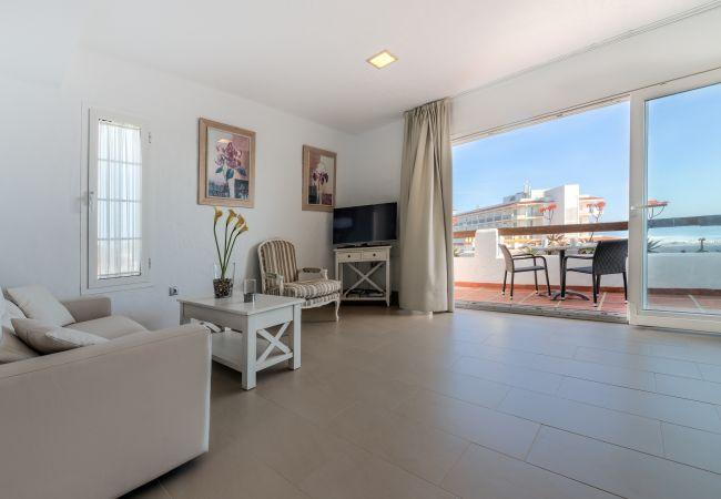 Salón de Villa Poniente - Villas Flamenco Beach (Conil)