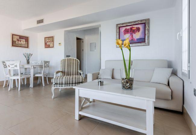 Salón comedor de Villa Poniente - Villas Flamenco Beach (Conil)