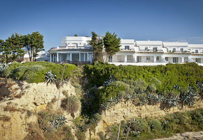 Fachada exterior Villas Flamenco Beach