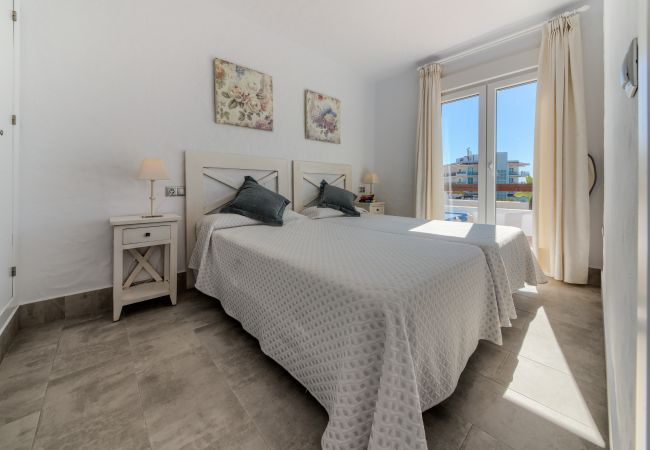 Dormitorio de Villa Fuente del Gallo - Villas Flamenco Beach (Conil)
