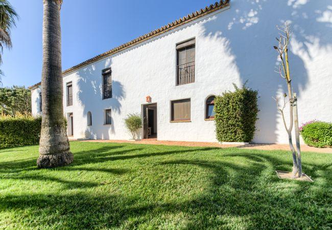 Fachada de Apartamentos Lavanda - Romero – Hacienda Roche Viejo