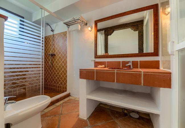 Baño de Apartamentos Lavanda - Romero – Hacienda Roche Viejo (Conil)