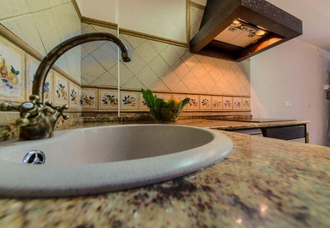Cocina de Apartamentos Lavanda - Romero – Hacienda Roche Viejo (Conil)