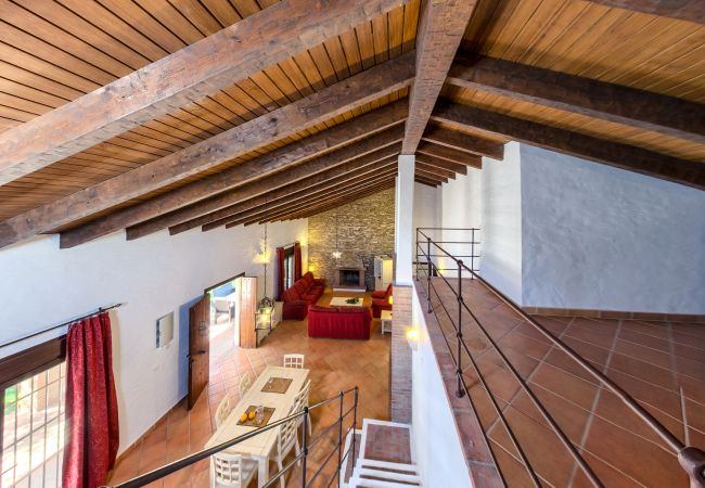 Salón Comedor de Casa El Olivo – Hacienda Roche Viejo (Conil)