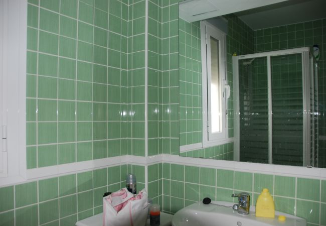Baño de Apartamento Bécquer – Villas Flamenco Rentals (Conil)