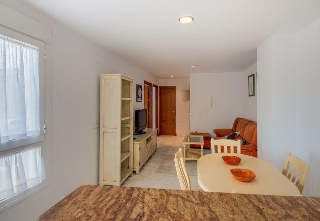 Salón comedor de Apartamento Bécquer – Villas Flamenco Rentals (Conil)