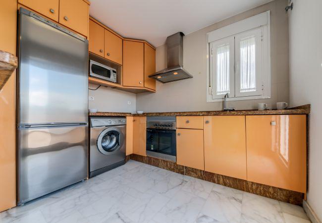Cocina de Apartamento Bécquer – Villas Flamenco Rentals (Conil)