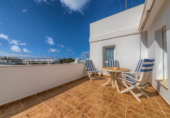 Terraza de Apartamento Bécquer – Villas Flamenco Rentals (Conil)