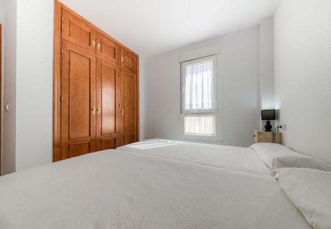 Dormitorio de Apartamento Bécquer – Villas Flamenco Rentals (Conil)