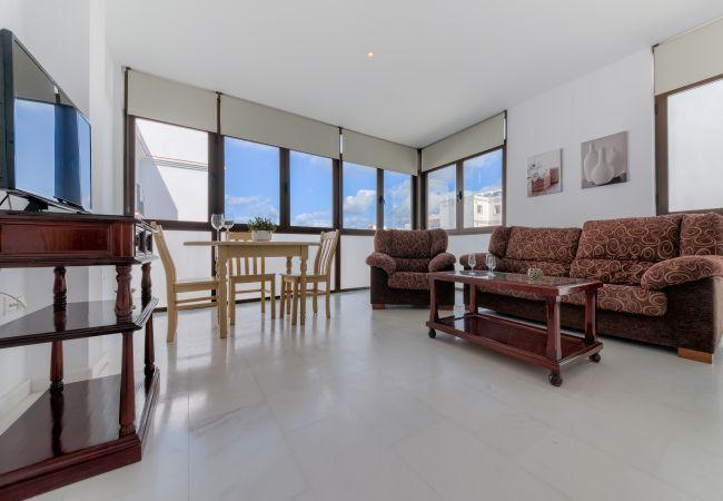 Salón comedor de Apartamento Mercurio 1 – Villas Flamenco Rentals