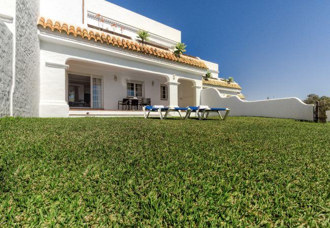 Terraza de Villa El Palmar - Roche - Villas Flamenco Beach (Conil)