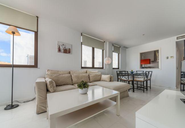Salón comedor de Apartamento Mercurio 2 – Villas Flamenco Rentals