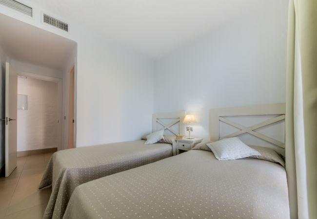Dormitorio de Villa Castilnovo - Villas Flamenco Beach (Conil)